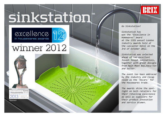 Brix Design A S Sinkstations Wins Award