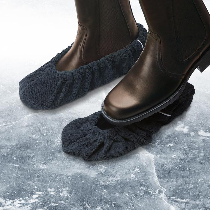 Как сделать чтобы не скользила подошва зимой